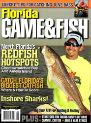 Captain Chris Pike Jr on the cover of Florida Game Fish Magazine