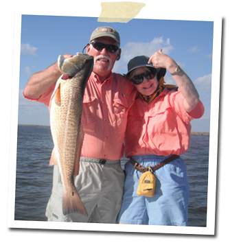 Fly Fishing for Red Fish and Speckled Trout in the shallow waters of Southern Louisiana