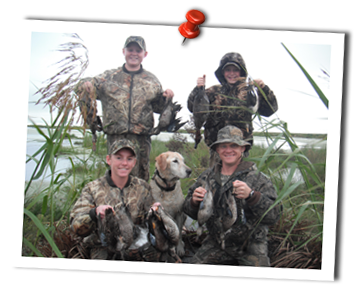 Cast and Blast Charters offers phenomenal waterfowl hunting
